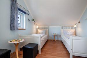 Ferienhaus / Ferienwohnung mit Schlafraum im Erdgeschoss, behindertengeeignet