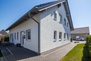 Barrierefreier Zugang zum Ferienhaus Müller Fehmarn