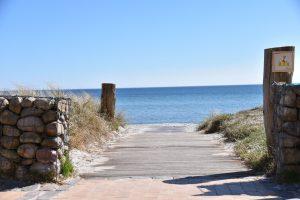 Strandaufgang am Südstrand