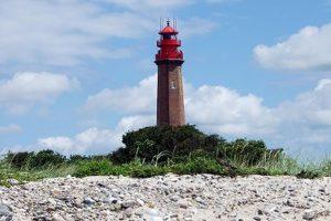 Flügger Leuchtturm auf der Ferieninsel Fehmarn