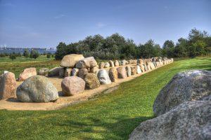 Steingrab bei Wulfen