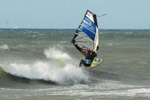 Windsurfer auf der Ostsee